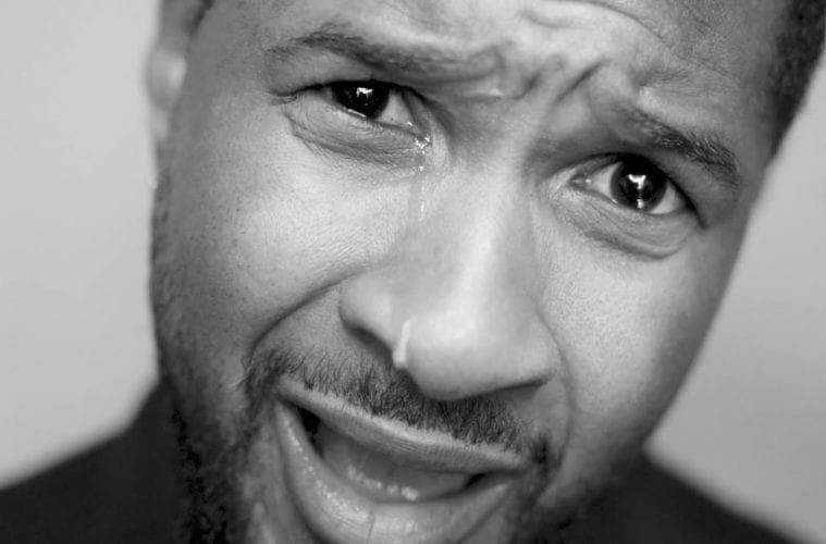 """Usher sings """"I Cry"""""""
