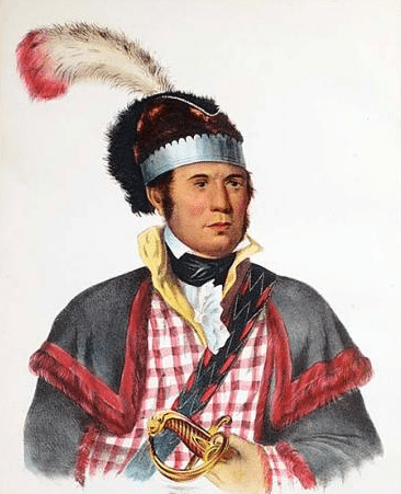 William McIntosh, leader of the Lower Creeks.