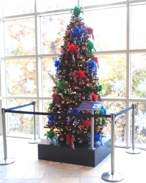 Mexico piñata tree for Winter Wonderland at Fernbank.
