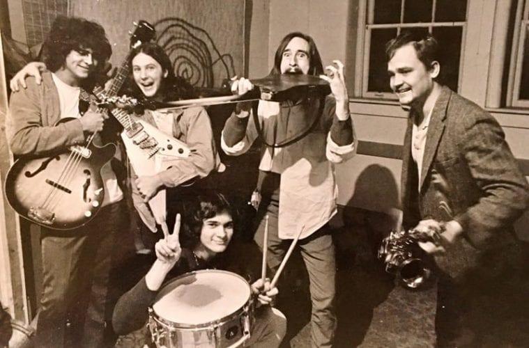 Wacky photo of the Hampton Grease Band.