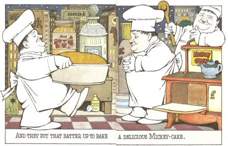From Sendak's In the Night Kitchen