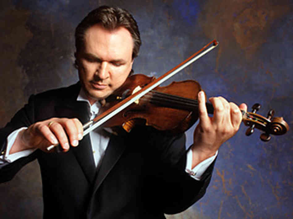 Violin/fiddle legend Mark O'Conner.