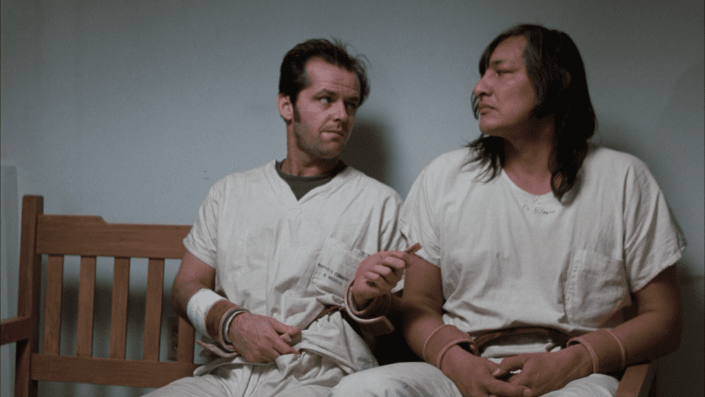 Jack Nicholson and Will Sampson starred in the iconic film based on the Ken Kesey novel.