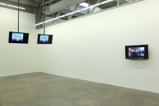 Jerald Holberg: Oval Office Interior Views, 2010, 1:59 min, single-channel video with audio. (Photo by Mike Jensen)
