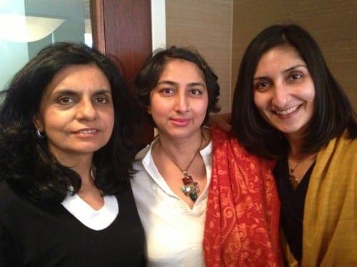 From left: Parul Kapur Hinzen, Soniah Kamal, Anjali Enjeti.