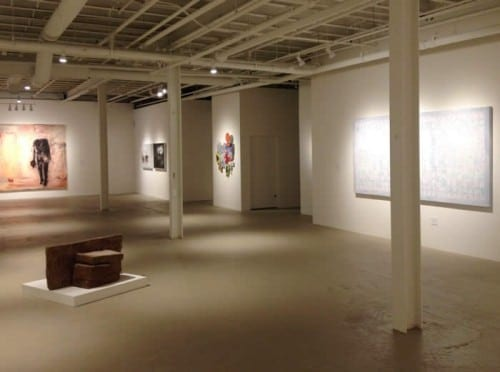 Gallery devoted to the permanent collection in MOCA GA's Education/ Resource Center