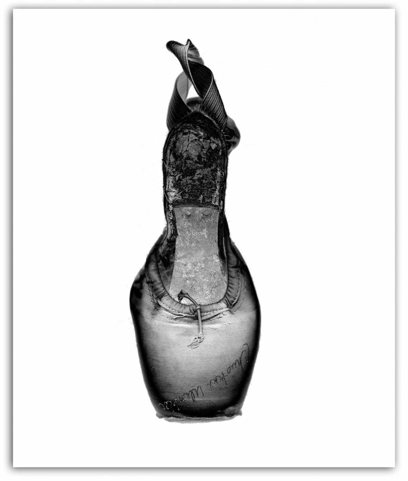 Charlie McCuller's photo of ballerina pointe shoes