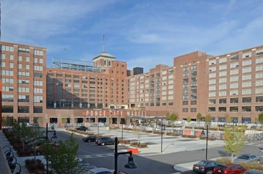 View of Ponce City Market from North  Avenue