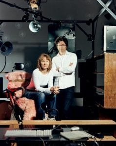 Janet Cardiff and George Bures Miller. (Photo by Bernd Bodtländer)