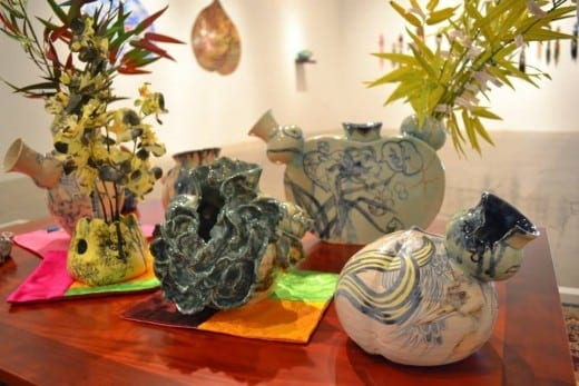 Jiha Moon's pottery