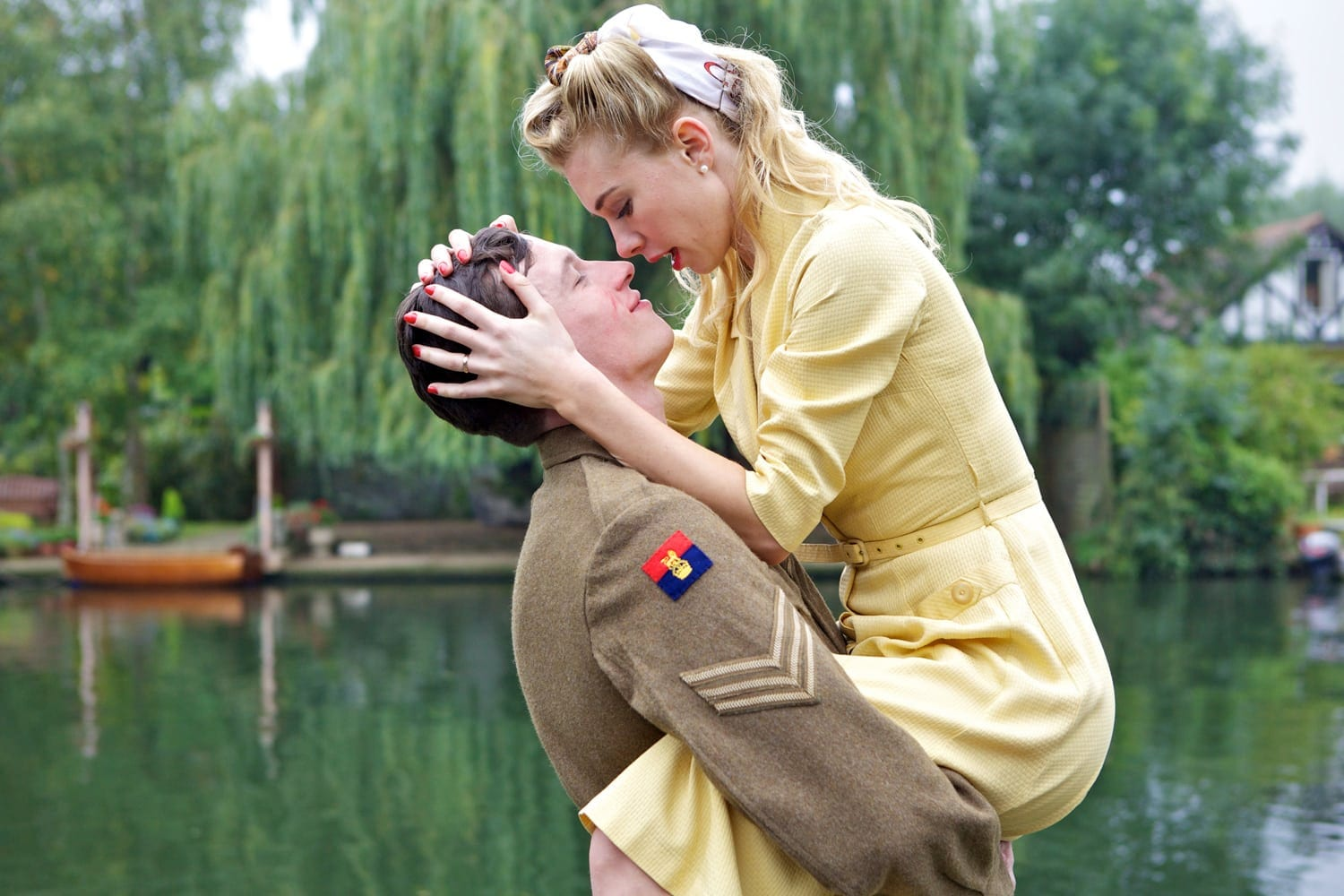 Caleb Landry Jones and Tamsin Egerton is Queen and Country.