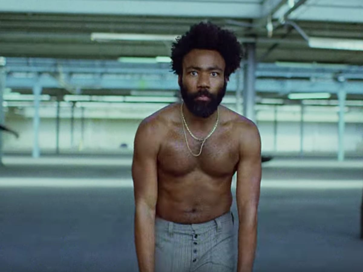 "Childish Gambino performs ""This Is America."""