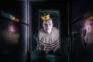 Mike Geier as Puddles The Clown.