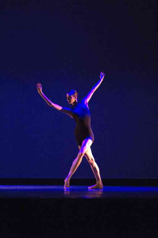 Alexa Goldberg dances in Lisa Lock's Under Current.