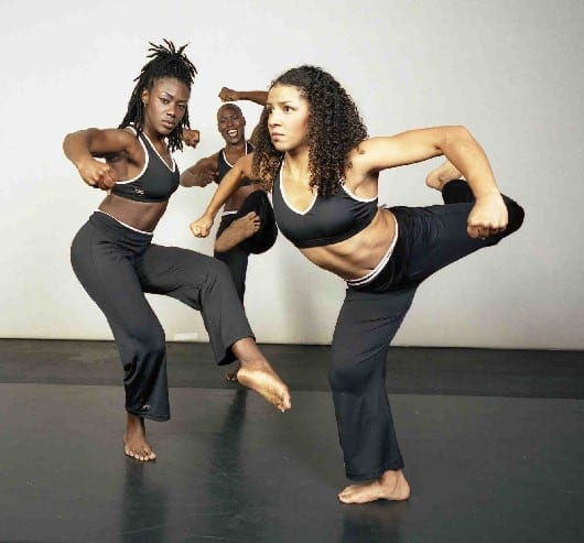 Dancers with the Urban Bush Women.