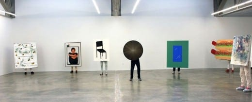 John Riepenhoff: Installation view. Courtesy Atlanta Contemporary.