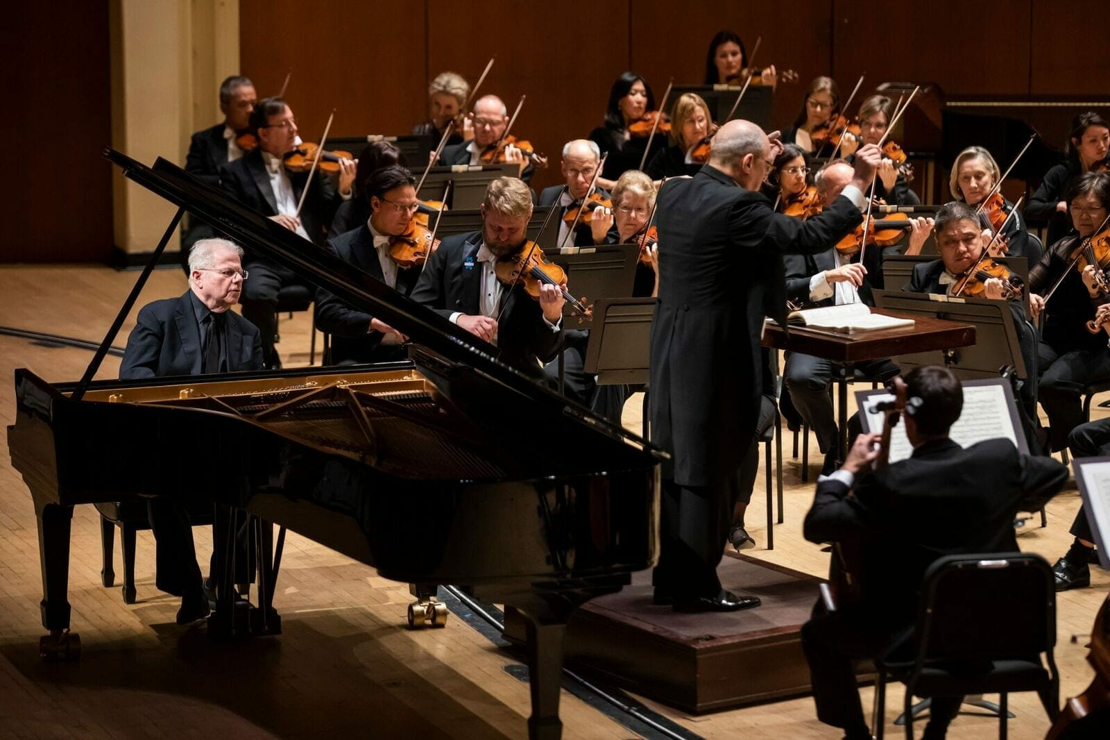 Pianist Emanuel Ax performs with the Atlanta Symphony Orchestra.