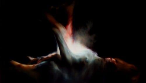 "Mimi Hart Silver: ""Hurt,"" 2011. Oil on canvas."