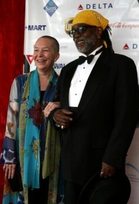 Cleage and husband, Zaron Burnett, Jr.