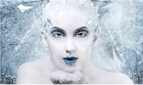 The image Clowdus shot for The Snow Queen.