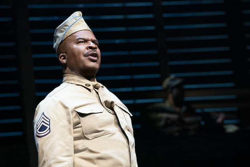 "David Alan Grier in ""A Soldier's Play"" Bway 2020"