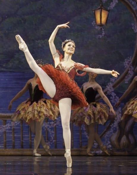 Mara dances the Sugar Plum Fairy in Atlanta Ballet's Nutcracker.