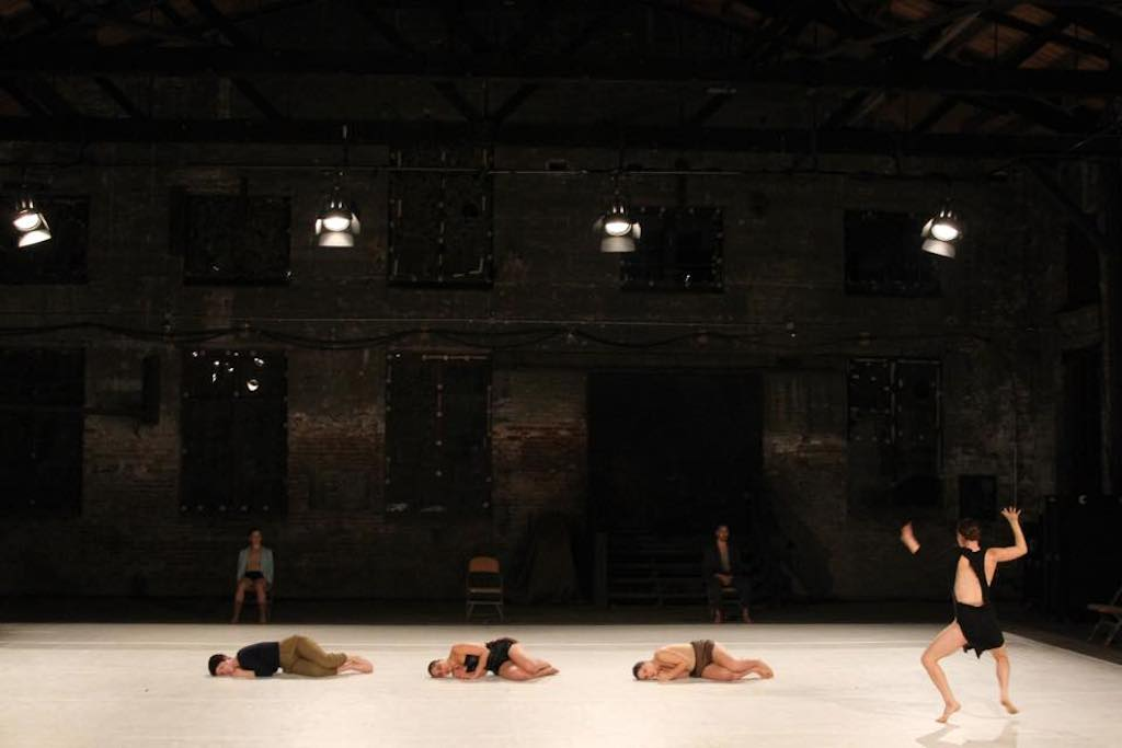 Agami adopted the bold flavorings of her mentor, Ohad Naharin. (Photo by Thom Baker)