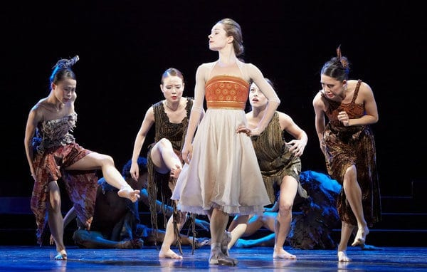 Alessa Rogers starred as Princess Irene in Tharp's The Princess and the Goblin. (Photo by Kim Kinney)