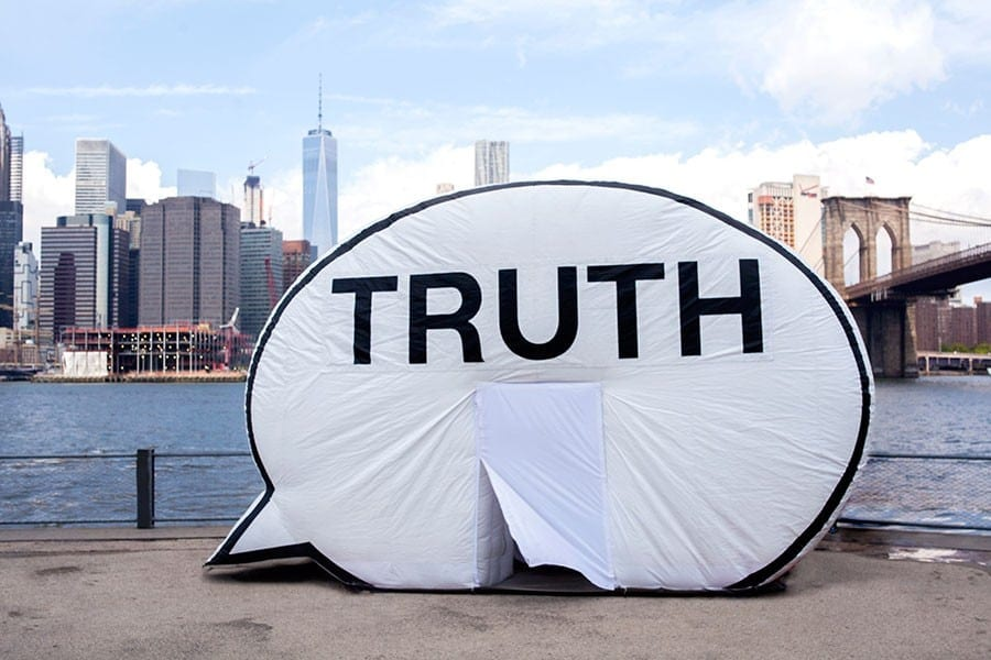 Cause Collective's Truth Booth during its visit to Chicago.