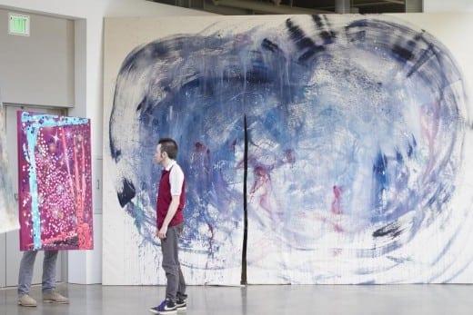 John Riepenhoff: installation view. Photo Kimberly Binns.)