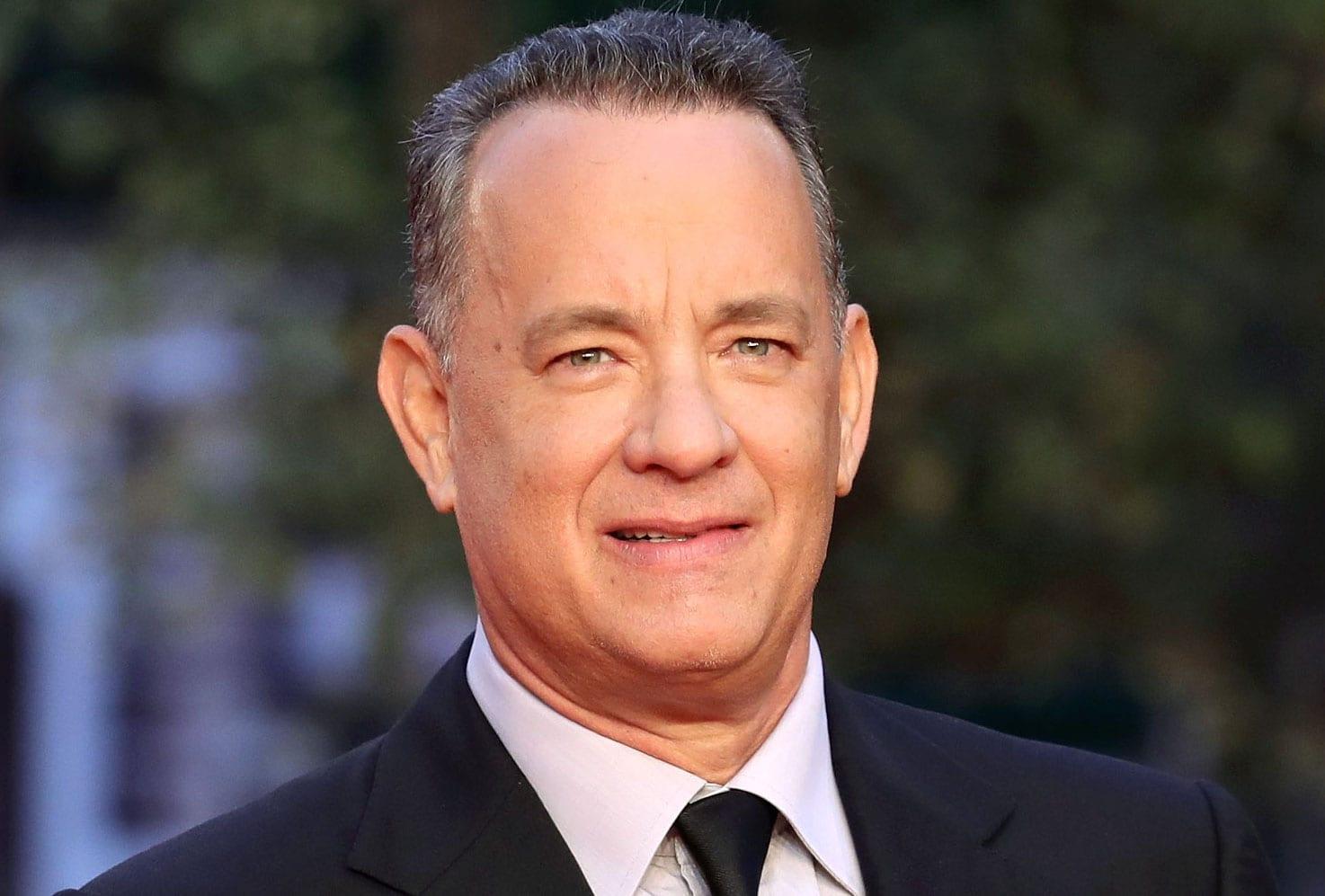 A headshot of actor Tom Hanks