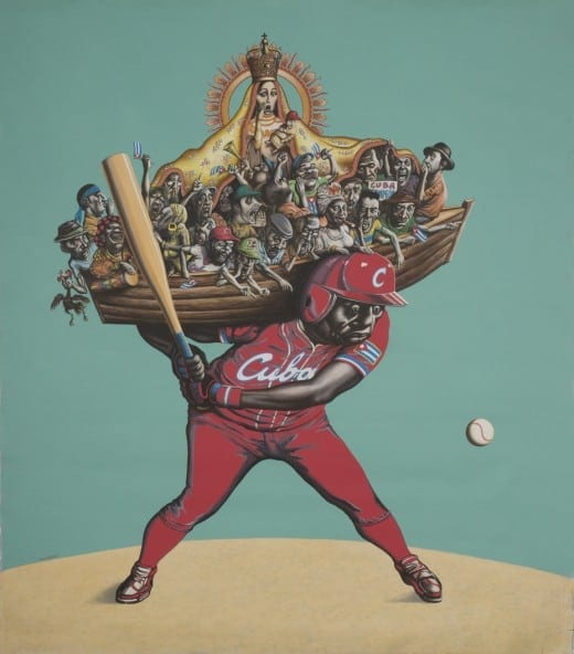 Reyneiro Tamayo: El Cuarto Bate (The Cleanup Hitter), 2013