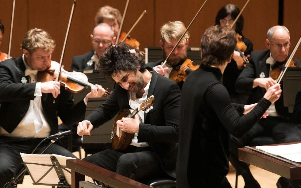 Mandolinist Avi Avital performs with Laura Jackson and the ASO.