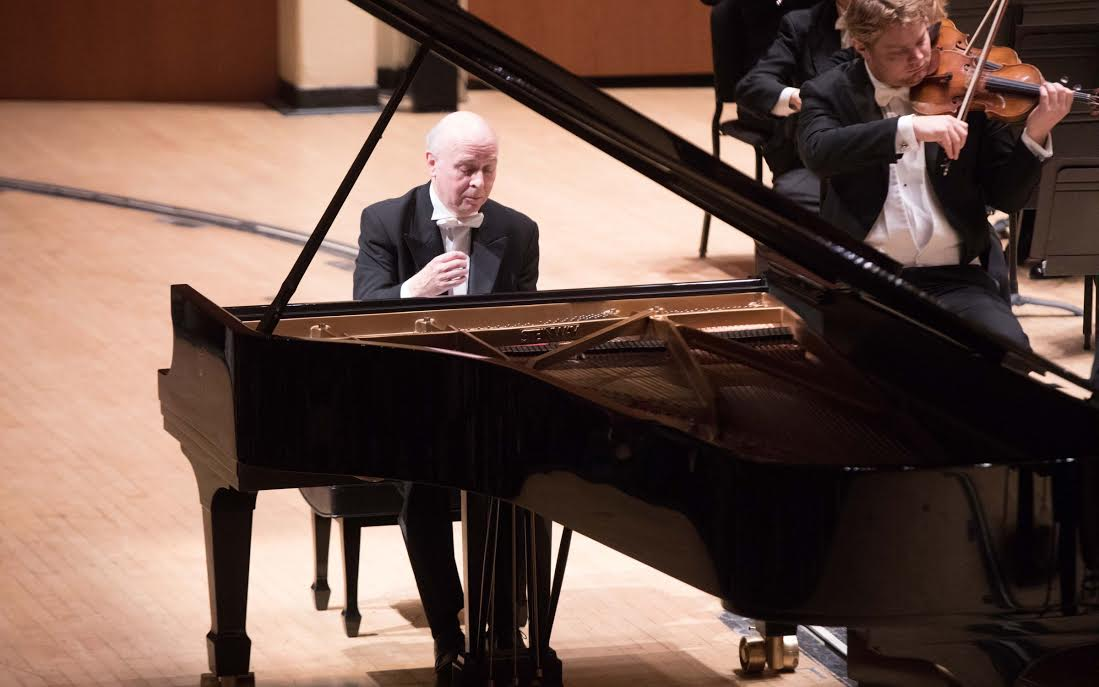 Pianist Jorge Federico Osorio performs with the Atlanta Symphony Orchestra.