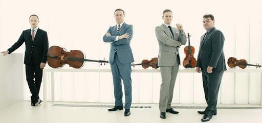 The Jerusalem Quartet will perform at Spivey Hall.
