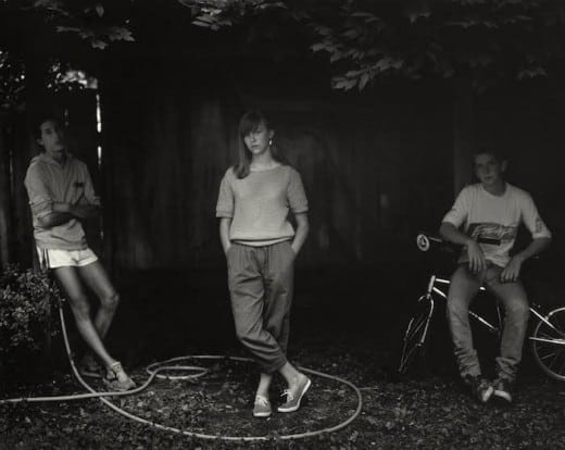 "Sally Mann: Untitled from the ""At Twelve"" Series (Rebecca and the Hose), 1983-1985 Image copyright of the artist and courtesy of Gagosian Gallery and Jackson Fine Art"