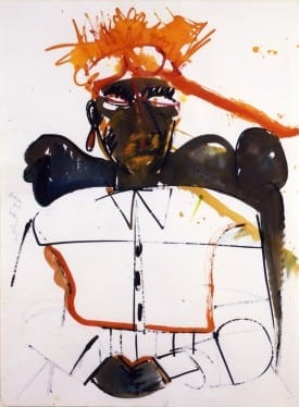 Romare Bearden: Obeah of High Category,  1984, watercolor on paper. © Romare Bearden Estate / Licensed by VAGA NY, NY.