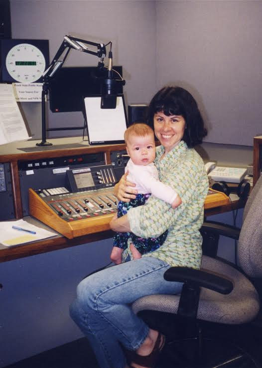 Sarah Zaslaw worked behind the scenes before she began to host her own show.