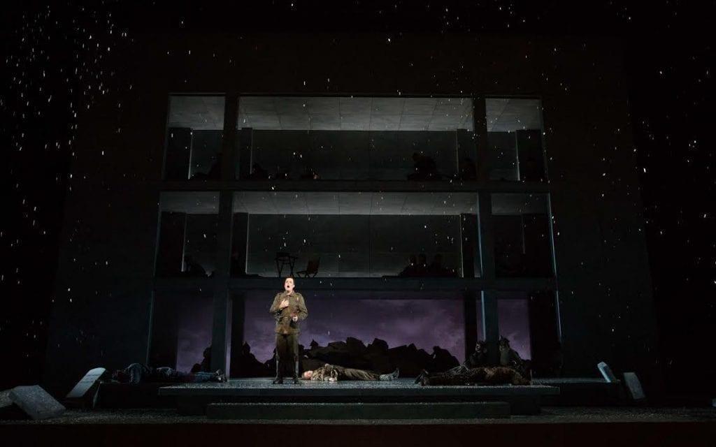 Last year's production of Silent Night showcased the Atlanta Opera's fresh take on a classic art form .