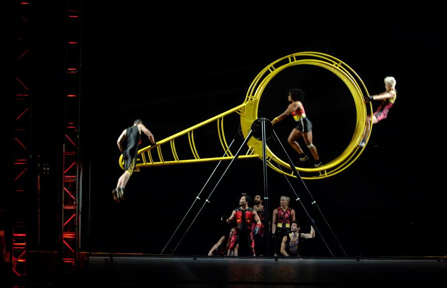 Streb's troupe pushes the boundaries of dance.
