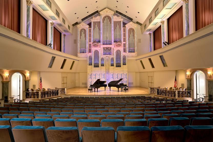 Spivey enjoys an international reputation for its superb acoustics.