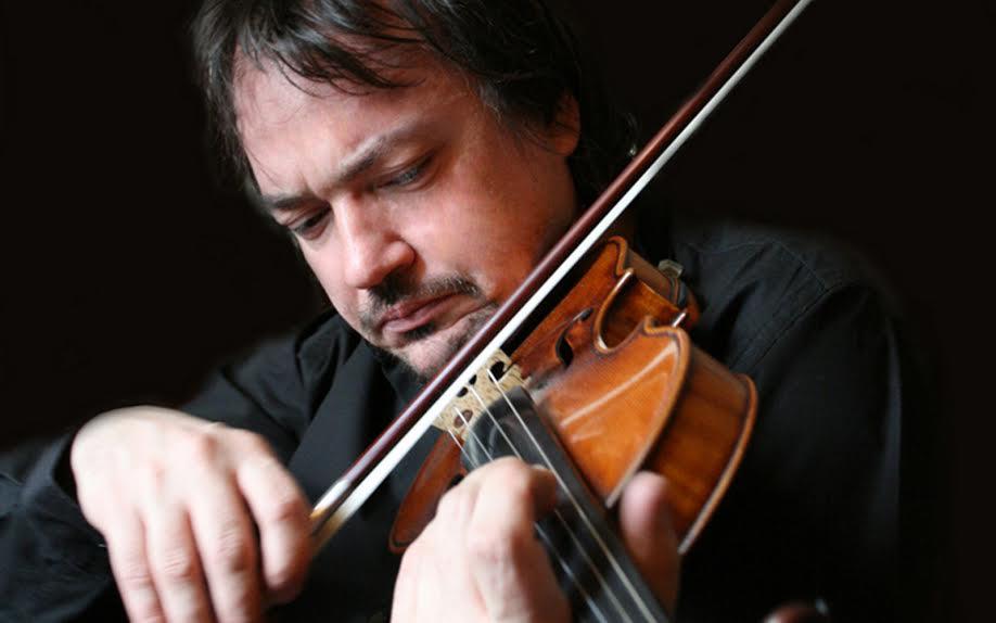 Violinist Sergej Krylov will perform again Saturday. (Photo by Olga Brykina)
