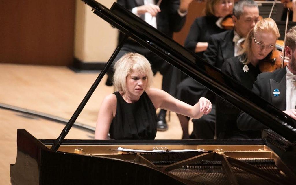 Pridgen brought exuberance to her performance.