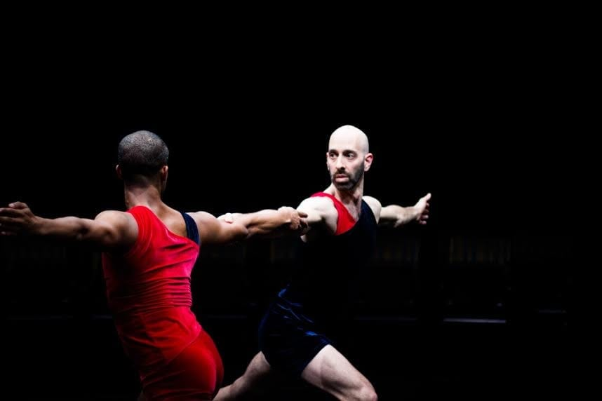 Daniel Gwirtzman performs  The Oracle with his dance company. (Photo by Anna Kuzmina)