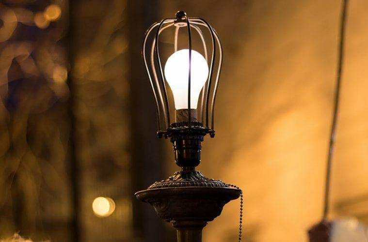 A ghost light for the coronavirus.