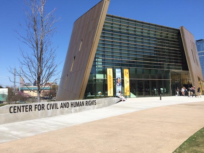 glo's Movement Choirs opens today at the National Center for Civil and Human Rights. (Photo by Gillian Anne Renault)