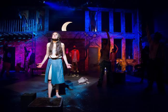 Natalia Via as Marisol. (Photos by Ann Borden).