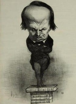 Honoré Daumier: Victor Hugo, n.d., lithograph, Collection Dr. and Mrs. Michael Schlossberg.