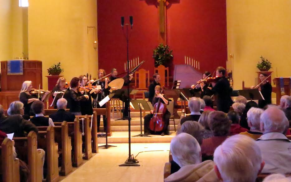 The Atlanta Baroque Orchestra took a musical stroll through theater music from 1715. (Photo by Mark Gresham)