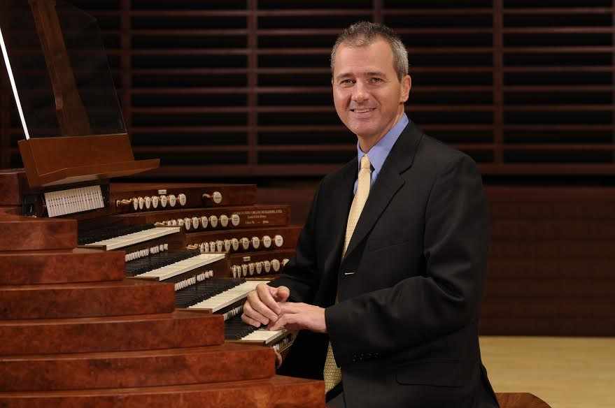 Alan Morrison is Spivey's new organist-in-residence.